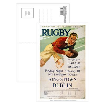 Rugby England Vs Ireland - Tickets to Kinstown and Dublin ...