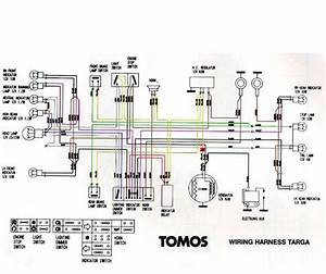 Question About A35 Tomos Wiring  U2014 Moped Army