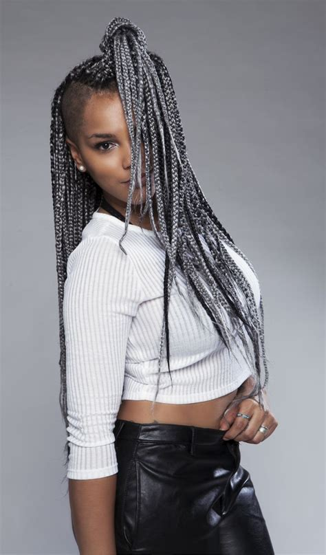cool box braids women hairstyles   astonishing