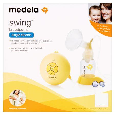 Swing Breast by Medela Swing Breastpump Walmart