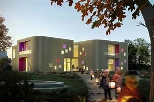 Neun Grad Architektur : neubau kindergarten neun grad architektur ~ Frokenaadalensverden.com Haus und Dekorationen