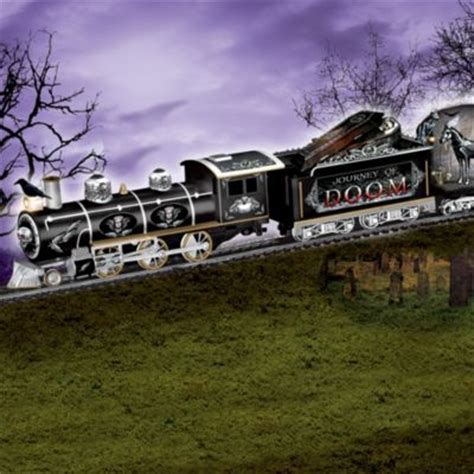 journey  doom express gothic electric train collection
