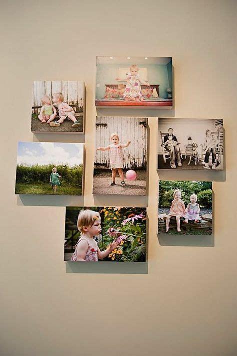 bilderwand selber machen 100 fotocollagen erstellen fotos auf leinwand selber