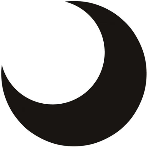 crescent moon wall sticker nursery wall decal childrens bedroom home decor