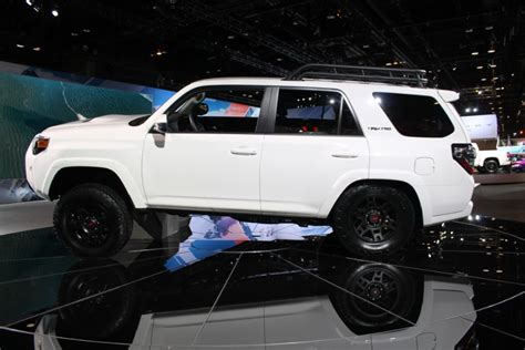 2019 Toyota Trd Pro Series Models Chicago Auto Show Photo