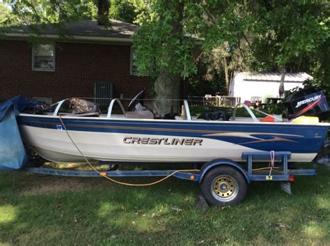 Crestliner Boats In Ohio by Crestliner Angler 16 Sc For Sale Ohio Fishing
