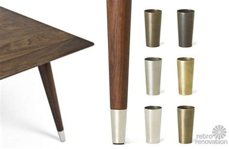 places  find metal shoes  table chair legs