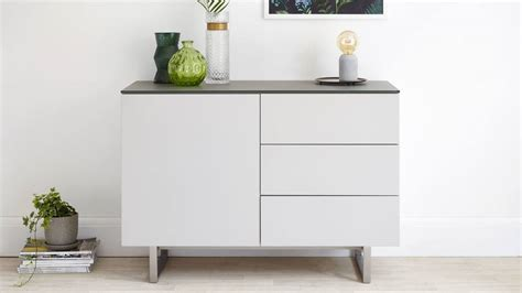 Small Modern Sideboard by Modern Grey Compact Sideboard With Storage Uk Delivery