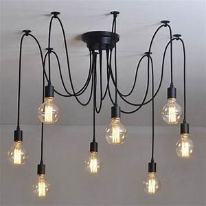 Industrial chandelier ceiling light fixture lamp