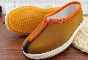 Autumn U0026winter Handmade Cotton Manual Monk Shoes Shaolin