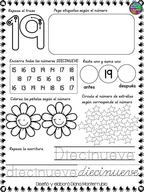 Imprimir N Umero Para Colorear