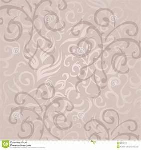Vintage Seamless Floral Wallpaper Stock Image - Image ...