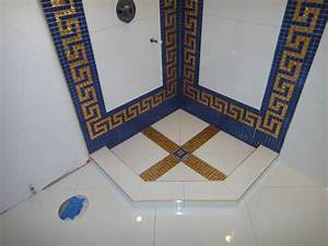 Versace Bathroom by Our Genius Tile Installer