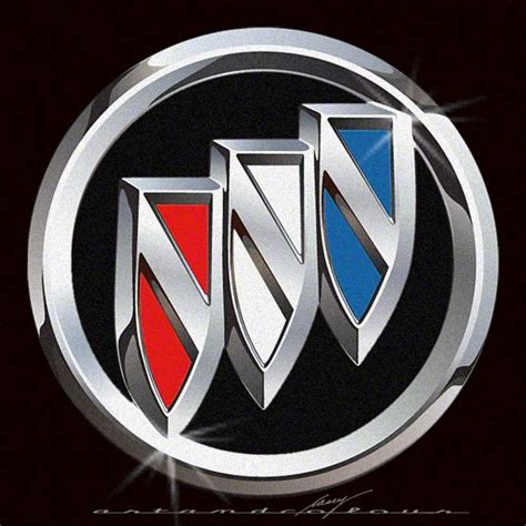 Buick Logo by Buick Updated Tri Color Logo Cars Vehicle