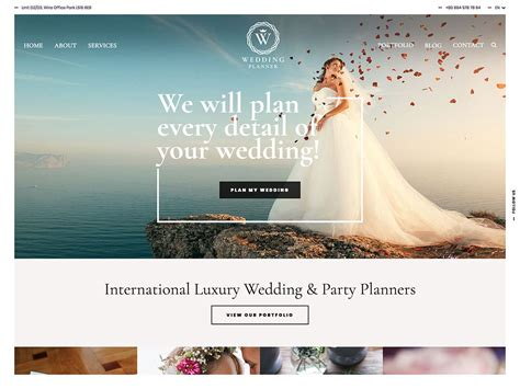 wedding wordpress themes  athemes