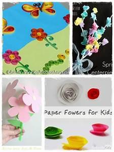 Bricolage A Faire Avec Des Petit : 60 bricolages de printemps en fleurs et en couleurs la ~ Melissatoandfro.com Idées de Décoration