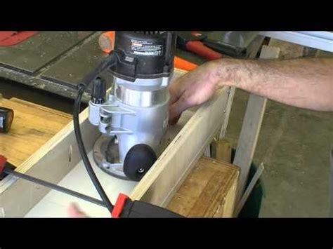 router sled leveling jig woodworking projects