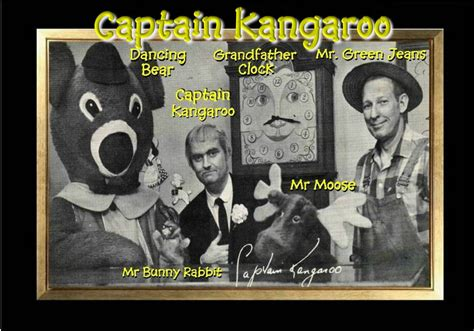 Magnet Television Captain Kangaroo Green Jeans Dancing