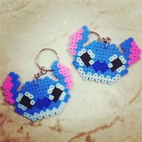 Stitch keychain hama beads by whali beads Perler Bead 8