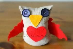 No Sew Sock Owls