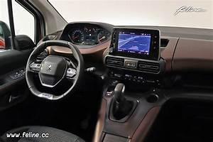 Peugeot Rifter Interieur : photos la d couverte du nouveau peugeot rifter ~ Dallasstarsshop.com Idées de Décoration