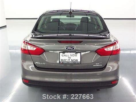 purchase   ford focus se sedan sunroof leather
