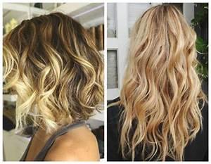 Balayage Cheveux Bouclés : obtenir des cheveux wavy avec un spray texturisant ~ Dallasstarsshop.com Idées de Décoration