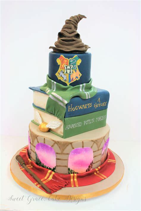 sweet  cakes nj harry potter custom cakes web