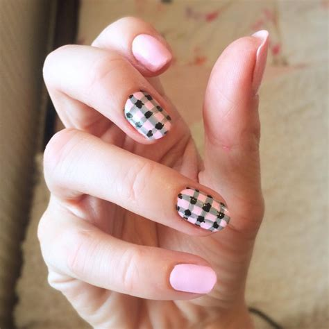 gingham nail art designs ideas design trends