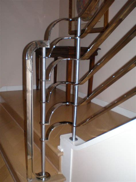 Chrome Banisters by Twisted Metal Of Sacramento