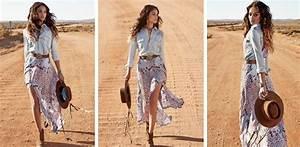 Mode Hippie Chic : 1001 mod les de tenue parfaite en jupe longue boh me ~ Voncanada.com Idées de Décoration