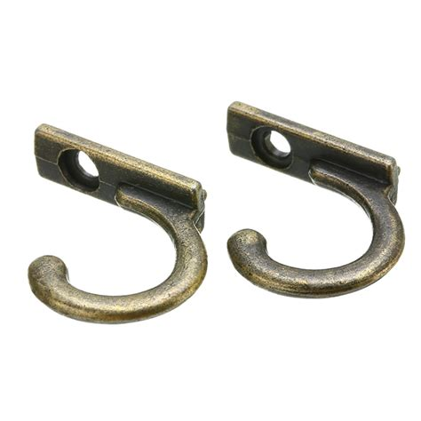 Individual hooks are a great way to add style and functionality to your home. 10Pcs Antique Wall Hooks Mounted Hooks Wall Key Holder Coat Hanger Decorative Hanging Hooks for ...
