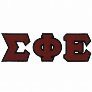 sigma phi epsilon stitched letters docoments ojazlink With sigep stitched letters