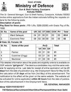 Army Pay Chart 2020 Ministry Of Defence Recruitment 2016 Class 10th Pass