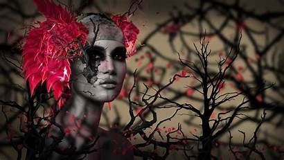 3d Wallpapers 4k Digital Trees Manipulation Backgrounds