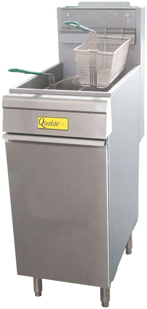 Qualite QL9NT Natural Gas Fryer: Restaurant Equipment and