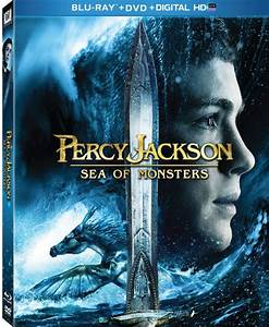 Percy Jackson Sea Of Monsters Dvd Review Logan Lerman