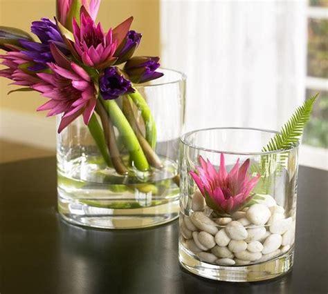 blumen dekorieren im glas blumen im glas blumen und pflanzen