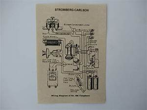 Stromberg Carlson Glue In Wiring Diagram For Wood Wall Phones