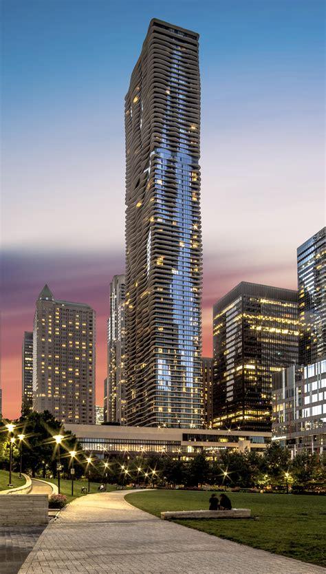 Aqua Tower, Chicago, Illinois (Summer) (2936x5218 ...
