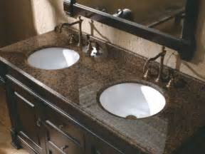 Bathroom Sink Vanity with Granite Countertops