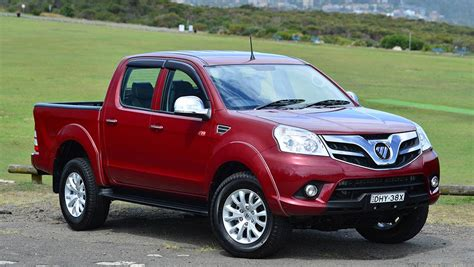 foton tunland dual cab   review carsguide