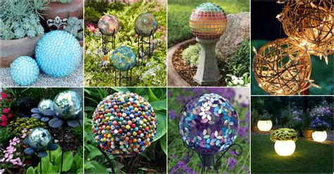 Diy Adorable Garden Globes That Will Beautify Your Garden