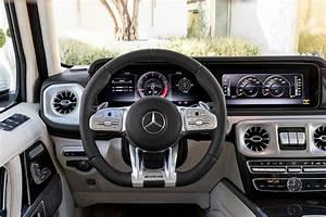2019 Mercedes AMG G63 dashboard - Motor Trend