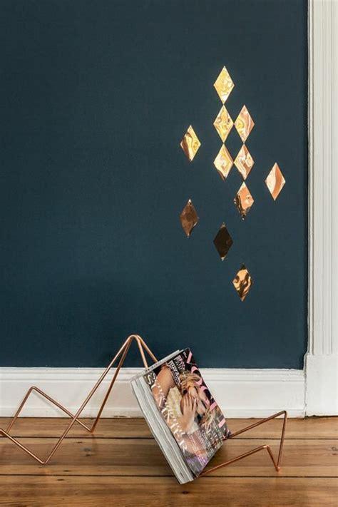 Eine Wand Farbig Streichen by 45 Ideen F 252 R Farbige W 228 Nde Archzine Net