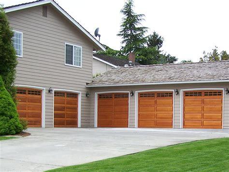 wooden garage doors thompson doors