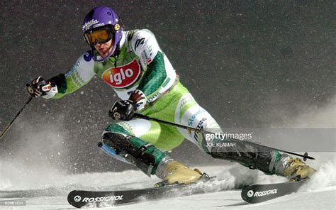 Jure Kosir of Slovenia competes during the men's night ...