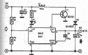 max641 high current step up converter circuit diagram world With frequency to voltage converter change your voltmeter to frequency meter