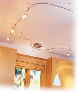 Stunning flexible track lighting with pendants for