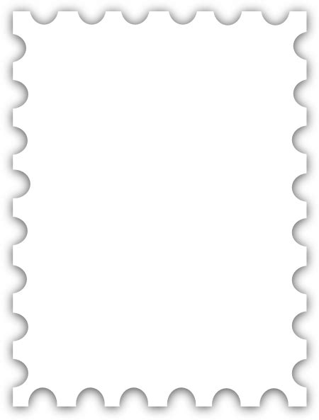 blank postage stamp template dedicated  susi tekunan